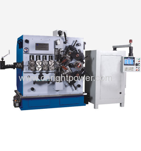 3-8mm full-function computer spring coiling machine