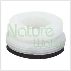 plastic inlet for filter divert valve