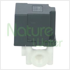 Auto flush solenoid valve