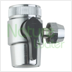 counter top water filter input divert