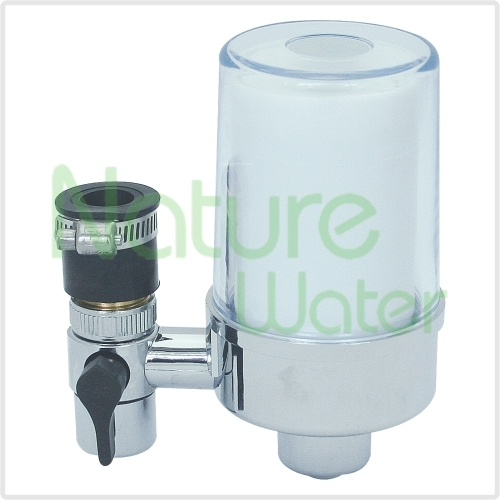 chromed tap water filters