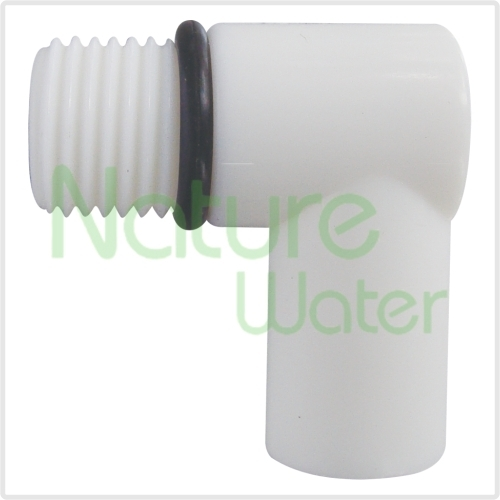 plastic fitting for counter top water filter