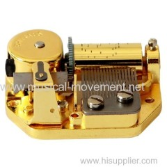 VINTAGE 18 NOTE MUSIC BOX MECHANISM