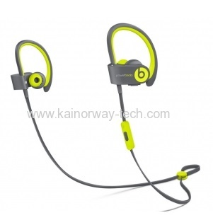 Beats by Dre Powerbeats2 Active Collection Athlete-Friendly Wireless Yellow Earbud Headphones