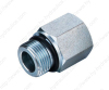 BSP male double use for 60° cone seat or bonded seal/ BSP female pressure gauge connectors