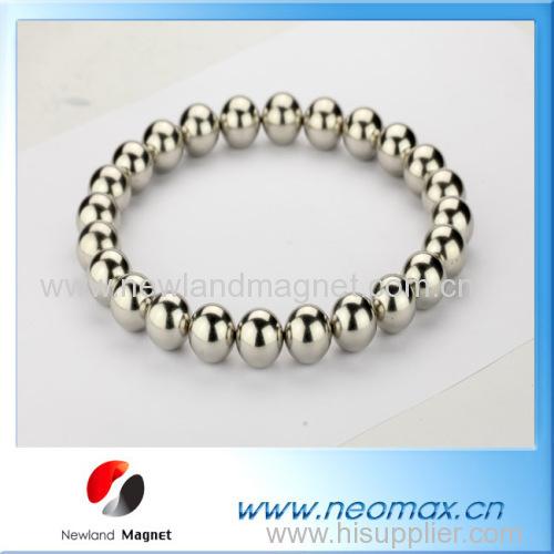 Sintered neocube ball magnets