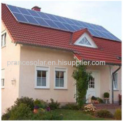 high quality home application solar power plant