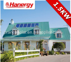 off grid normal specification and home application solar power kit