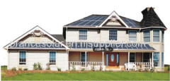 home application and normal specification off-grid home solar system