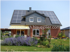 of grid home solar power panel system