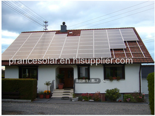 off grid solar panel electricity system applied in no grid area