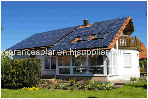 off-grid solar power generator system for home use