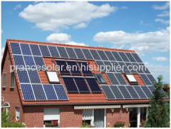 7kw for Whole House Use off Grid Home Solar Power System