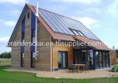complete set off grid solar system for house use