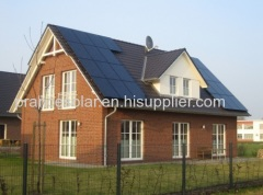 off grid residential solar panel power system for home