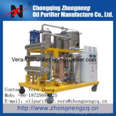 Used Phosphate Ester Oil purification plant/Hydraulic Oil purifier/Hydraulic Oil Purification System