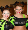 Custom team sexy training sports clothing performing cheerleading uniforms