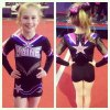 Free custom yourself style kid team cute cheerleading uniforms