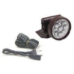Multi Color LED Flashlight with 9 LED