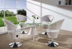 White rattan bar stool height bar furniture set designs