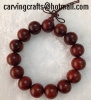 Red wood Hand string Laos rosewood bracelets Prayer beads bracelet 10mm-20mm
