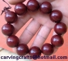 India lobular Rosewood smooth bead bracelet for men and women section 20MM Sandalwood Hand string dalbergia wood beads b