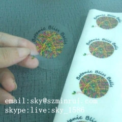 Round Self Adhesive Sticker