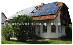 Household off grid solar power system 0.4kw