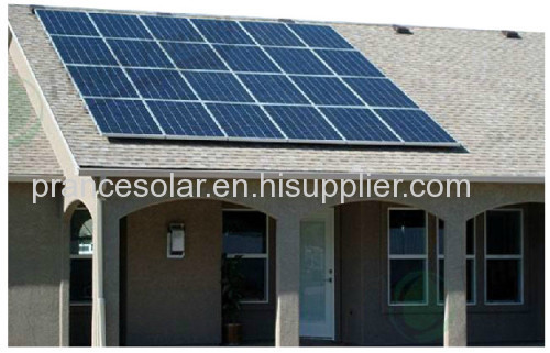 Household off grid solar power system 0.6kw