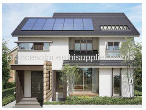 Household off grid solar power systems