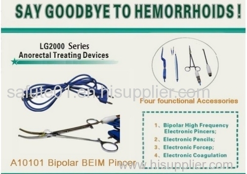 Electrical clamp Hemorrhoids Treatment Wholeale