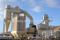 Bentonite clay powder crushing process and grinding process plant