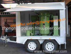 Movable Used Turbine Oil Recycling Plant