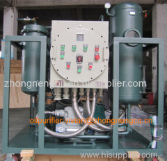 Explosion Proof Type Waste Turbine Oil Recycling Machine