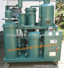 Newly Technology Lube Oil Cleaning Machine Devote To Dewatering and Degassing and Decoloring