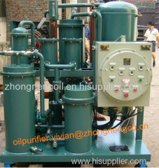 Anti Explosion Type Lube Oil and Hydraulic Oil Cleaning Unit