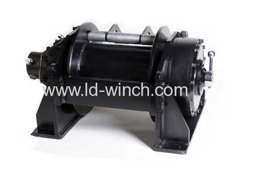 variable speed hydraulic winch