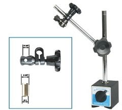 60205 MAGNETIC STAND WITH DUAL USE CLAMP HOLE