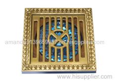brass floor drainer copper strainer factory store