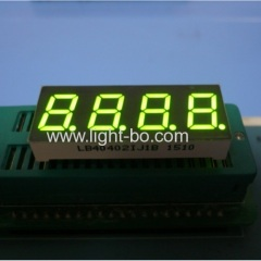 "4 digit 0.4"" green led display; 4 digit green 7 segment"