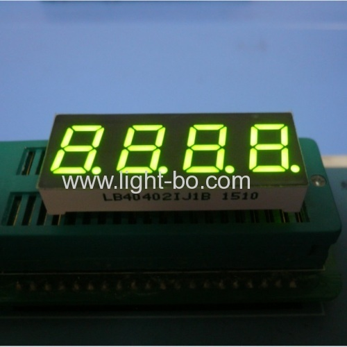 Ultra Blue 4 digit 0.4-inch common cathode 7 Segment LED Display for home appliances