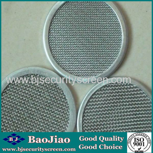 304 316 stainless steel mesh screen filter discbaojiao filter disc