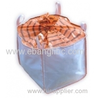 PP bulk bag with coated for packing chemical powder