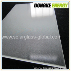4.0mm ultra clear patterned solar panel glass