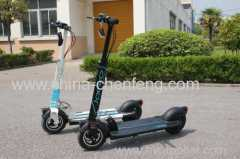 10 inch portable 2 wheel mini electric standing scooter