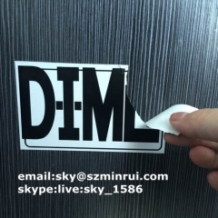 Destructible Eggshell Sticker/ultra destructible labels/frangible paper labels