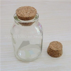 Cork Glass Apothecary Jars