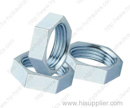Carbon steel hydraulic hose Adapter adapters by CNC machine 8C/8D