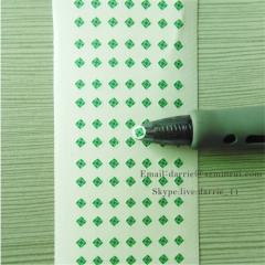 China largest self-adhesive destructible label manufacturer wholesale tiny round 4mm diameter warranty screw label