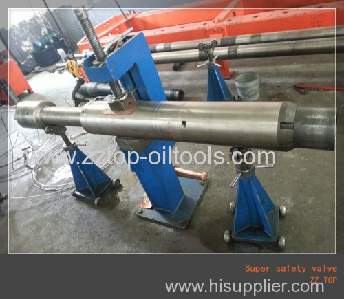 8  Super safety valve for Drill stem testing operation Full H2S